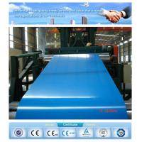 Buy cheap Good price!!! blue color prime quality ppgl steel sheet for roofing from wholesalers