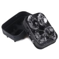 Buy cheap Wholesale best selling products china supplier skull shaped custom personalized silicone ice cube tray ice cream mold from wholesalers