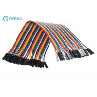 Buy cheap 40 Pin Dupont Header Female To Female Jumper Wires 2.54 Mm Pitch Connector Available from wholesalers