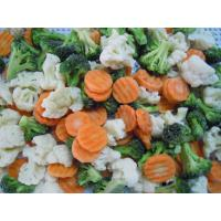 Buy cheap IQF mixed vegetables(broccoli,cauliflower,crinkled carrot,cut beans) from wholesalers
