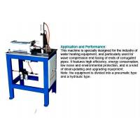 Buy cheap Corrugated Pipe End Facing Machine For Stainless Steel Welding Corrugated Hose from wholesalers