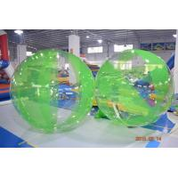 Buy cheap Colored Inflatable Water Volleyball Ball / Walking Ball With Logo Printed product