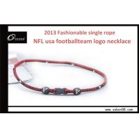 Buy cheap Elastic Soccer Ball  Custom Braided Rope Necklace  47 / 49 / 51cm  For Men from wholesalers
