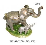 Buy cheap Elephant Trinket Box Mom & Baby Bejeweled Figurine from wholesalers
