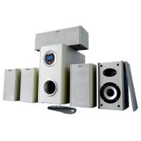 Buy cheap remote control 5.1 home theatre speakers bulit-in FM radio support USB.SD from wholesalers