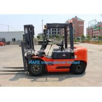 Buy cheap 3T Capacity Diesel Engine Forklift Truck With Soft Bag Clamp / 3 Stage 6m Container Mast from wholesalers