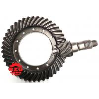 Buy cheap HINO Transmission System Crown Wheel And Pinion , Spiral Bevel Pinion Gear from wholesalers