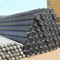 Buy cheap Cement Prestressed Concrete Poles High Precision Concrete Electric Pole Mould product