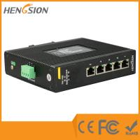 5 Port 1000Base Ethernet Industrial Gigabit Ethernet Switch 9-36VDC / 9-36VAC