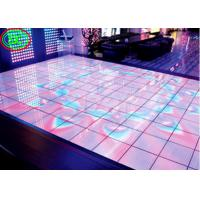 Buy cheap High definition full color floor LED display , P6.25 Induction, dance floor full color LED electronic video display from wholesalers