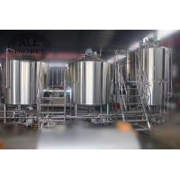 Buy cheap New design 3000L Cooling jacket Low Cost Stainless Steel Steam Beer Brewing With Ce Certificate from wholesalers