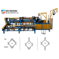 Buy cheap Compact Roll 6m Fully Automatic Chain Link Fence Machine from wholesalers