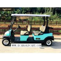 Buy cheap 48V 6 Passenger Electric Golf Cart With Aluminum Chassis For Transportation product