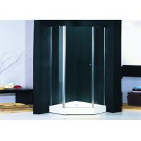 Buy cheap Hotel Hinged Shower Enclosures 1000 X 1000 With Pivot Glass Shower Doors from wholesalers