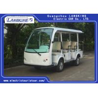Buy cheap Fashion 11 Person Electric Sightseeing Bus , Max Forward Speed 40km/h for Hotel from wholesalers
