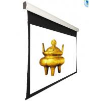 Buy cheap 150''  Tensioned Ceiling Recessed Motorized Projection Screen With Remote Control from wholesalers