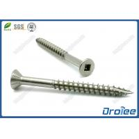 Buy cheap Countersunk Head Square Drive Marine Grade Stainless Steel 316 Decking Screw from wholesalers