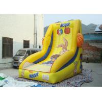 Buy cheap Commercial Giant Inflatable Basketball Hoop For Kids Inflatable Games from wholesalers