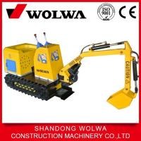 Buy cheap kids 90 degree rotation mini excavator electric digger for children from wholesalers