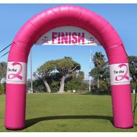 Buy cheap Standard Tethered Inflatable Arch , Airtight PVC Inflatable Finish Line Arch for Outdoor from wholesalers