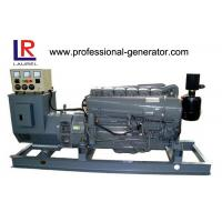 Buy cheap 48kw 60KVA Air Cooled Diesel Generator Set with Deutz Engine , Base Steel Frame from wholesalers