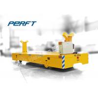 Buy cheap electric flat transfer cart can customized steel plant ladle transfer die bogie from wholesalers