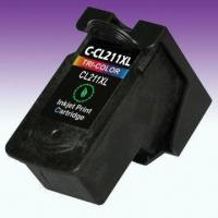 Buy cheap Remanufactured Ink Cartridge for CL-211XL, Suitable for Canon Pixma Inkjet Printer from wholesalers