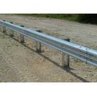 Buy cheap Customized Traffic Guard Rails , Highway Crash Barrier With Protective Coating Layer from wholesalers
