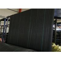Buy cheap PP Geotextile Landscape Fabric , Black Color Weed Barrier Mat With UV Treatment from wholesalers
