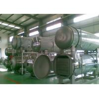 Buy cheap Retort Sterilizer Machine Autoclave Water Circulation Pipeline Food Industrial Applied from wholesalers