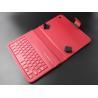 Buy cheap PU Leather 7 Inch Tablet Keyboard Case , Ultrathin bluetooth wireless keyboard from wholesalers