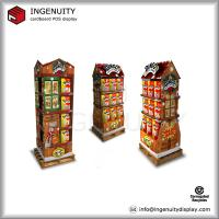 Buy cheap christmas greeting cards cardboard stands from wholesalers