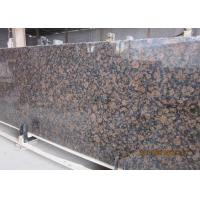 Buy cheap Baltic Brown Granite stone slabs for indoor and outdoor stone flooring product