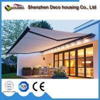 Buy cheap Modern Design Remote Control Electric Outdoor retractable aluminum awnings/Retractable Sunshade awning price from wholesalers