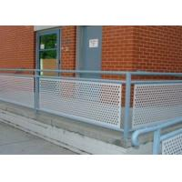 Buy cheap OEM Perforated Stainless Steel Screen Diamond Hole Shape Smooth Surface Treatment from wholesalers