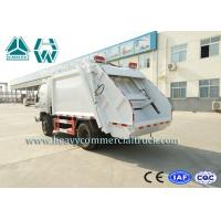 Buy cheap 16Cbm 4 X 2 Self Loading Refuse Compactor Truck With Hydraulic System from wholesalers