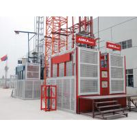 Buy cheap Cement Plant Chimney Construction Hoist Elevator Lift By Rack And Pinion Hoist from wholesalers