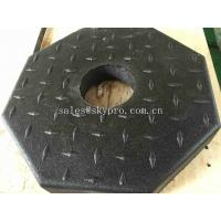 Buy cheap Outdoor Rubber Pavers / Rubber Floor Paver Training Room Interlocking Tile product