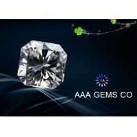 Buy cheap VVS1 Fancy Loose Moissanite Diamond 8 mm With BV Certificate from wholesalers