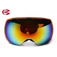 Buy cheap Outdoor Frameless Anti UV Snowboard Ski Goggles With Interchangeable Lens from wholesalers