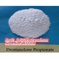 Buy cheap High purity white powder Injectable Natural Bodybuilding Drostanolone Propionate Steroid Powder Source 521-12-0 from wholesalers