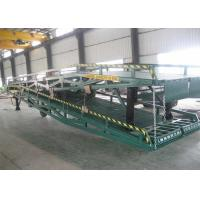 Buy cheap Customize Design Portable Loading Ramps / Loading Dock Ramps With Solid Tyres from wholesalers