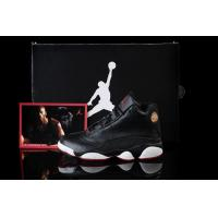 Buy cheap 2013 Nike Air Jordan 13 Retro Men's nike sneakers black/white from wholesalers