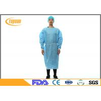Buy cheap Disposable Surgical Hospital Patient Gown , Protective Sterile Gowns For Medical from wholesalers