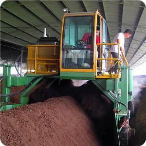China fertilizer compost turner machine on sale