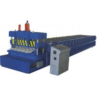 Chain Drive Roofing Tile Forming Machine With Fully Automatic Control
