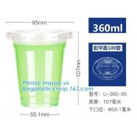Buy cheap Disposable 100% compostable wholesale CPLA lids for soup bowls,PLA 8oz biodegradable paper cup with lid, bagplastics pac from wholesalers