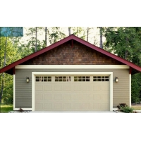 Buy cheap Motorized Automatic Overhead Garage Door Linear Pattern from wholesalers