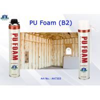 Buy cheap Nonflammable PU Foam Insulation Spray B2 Aristo Multi Purpose Foam Spray Can from wholesalers