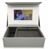 Buy cheap 7 inch screen Unique Product Ideas Lcd  presentation box Display Video Brochure Gift Box from wholesalers